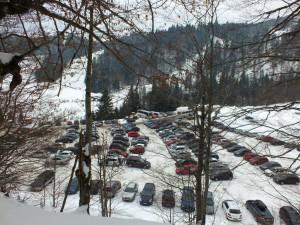 Парковка на курорте