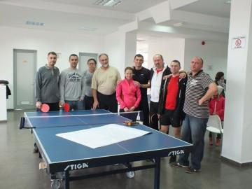 Состоялся первый турнир по настольному теннису в Баре!