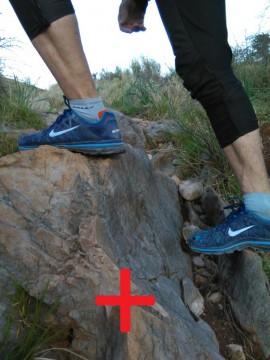 Правильная постановка ноги во время длительного подъема в гору